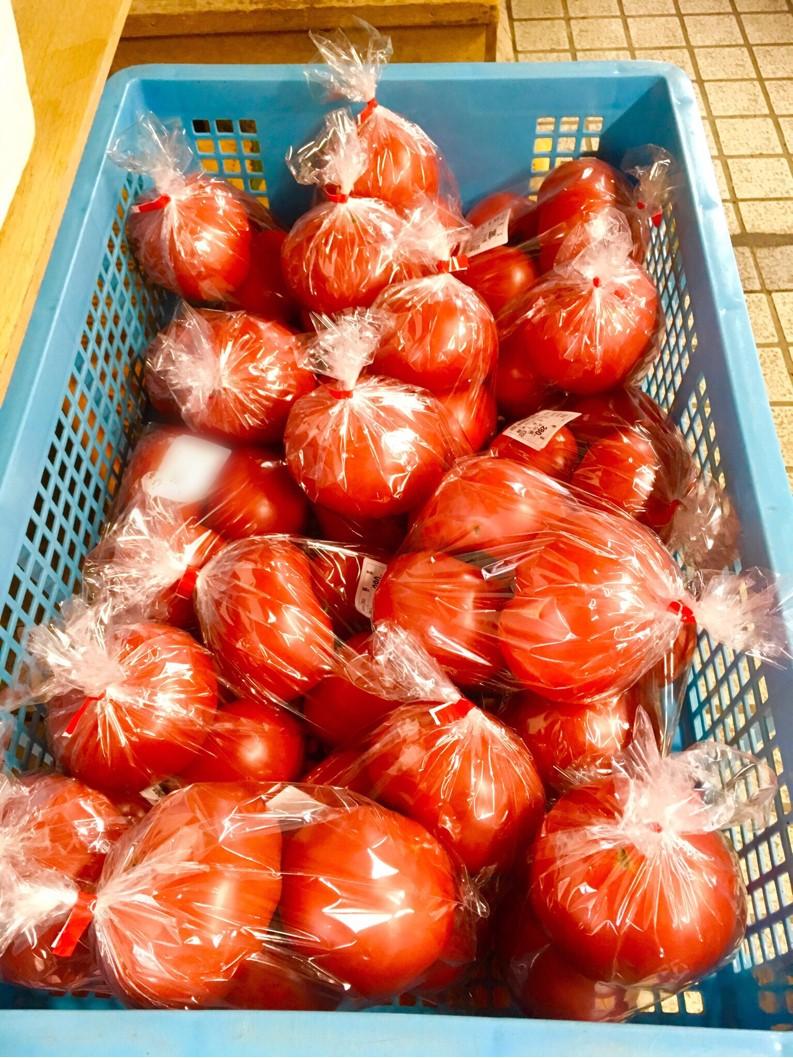 【出荷情報】トマト(ひぐらし茶屋)