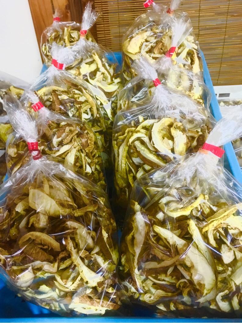 【出荷情報】スライス乾椎茸(ひぐらし茶屋)